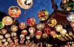 「大阪・光の饗宴2017」御堂筋イルミネーション&プロジェクションマッピング、夜空を彩る台湾ランタン