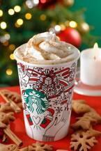 スターバックスのクリスマス限定、ラズベリー ホワイト チョコレート フラペチーノ発売