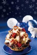 """コールドストーン、""""ご褒美感""""がテーマのクリスマス限定アイス - 香り高いピスタチオで贅沢に"""