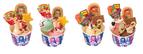 サーティワンのクリスマス限定アイス - ミッキーやスヌーピーのアイスクリームケーキ、動物サンデー登場