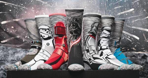 スター・ウォーズの靴下、ダース・ベイダーやR2-D2など全13種類が米ソックス スタンスから