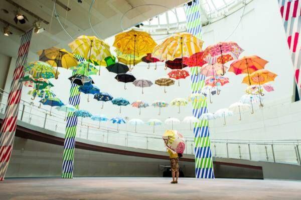 「鈴木マサルのテキスタイル展」福岡で初開催 - テキスタイルや傘など100点を展示