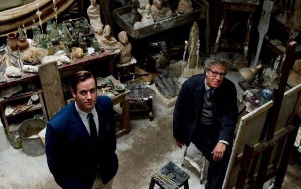 映画『ジャコメッティ 最後の肖像』天才彫刻家、晩年の創作の裏側を描く