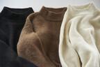 """マーカウェアから""""アルパカ""""を使った新作 - 天然の色味と光沢が美しいコートやストール"""