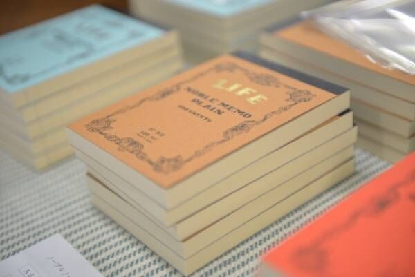 紙の祭典「紙博」京都で開催、文房具メーカー・イラストレーターのショップが集合