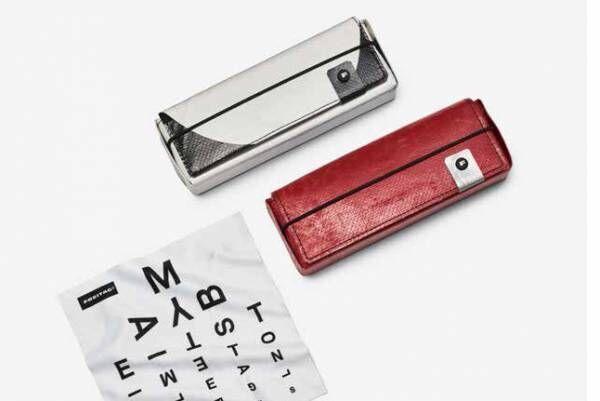 """フライターグより小物アイテム登場、""""タープ""""の切れ端で作られたキーホルダーや眼鏡ケースなど"""