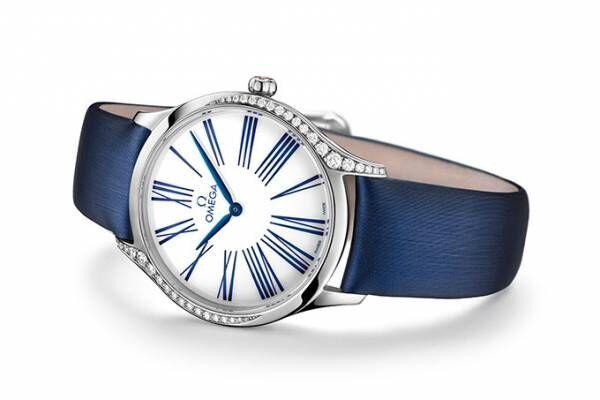 オメガの新レディス時計「トレゾア レディス コレクション」曲線を描くダイヤモンド&花モチーフのデザイン