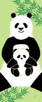 """上野「パルコヤ」パンダの""""香香""""公開に合わせた限定グッズ - 小パンダを模したスイーツも"""