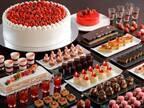 シェラトン都ホテル大阪でいちご&チョコのスイーツブッフェ - フォンダンショコラやケーキなど