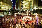 「梅田ゆかた祭2018」大阪で開催 - 盆踊りや打ち水、水辺に足を浸して食事を楽しめるテラスも