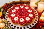 キル フェ ボン「佐藤錦のキャンドルナイトケーキ」杏仁ムース&クコの実をロウソクに見立てた限定品