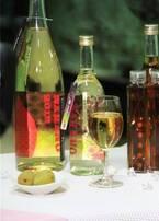 「梅酒ヌーボー」収穫したての南高梅を使った新酒、炭酸割りでシャンパン風に