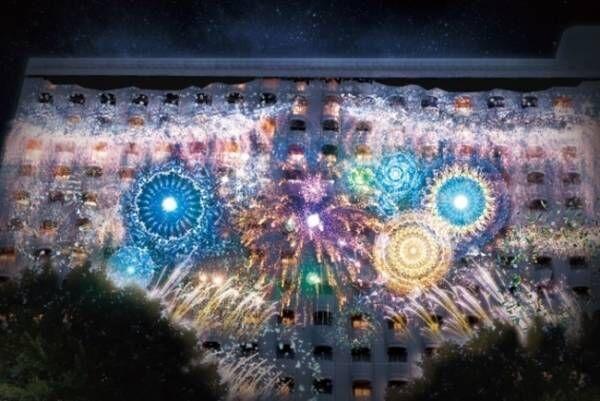 """ネイキッドの""""デジタルアート花火大会""""グランドプリンスホテル新高輪で、東京バレエ団とコラボも"""