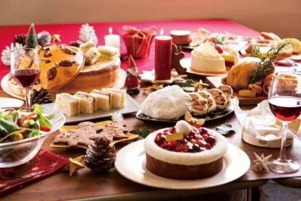 """メゾンカイザーのクリスマス 、""""サンタの帽子""""を表現したベリータルト&トナカイを飾ったケーキ"""