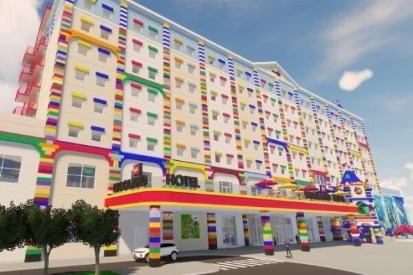 名古屋のレゴランド・ジャパン、テーマパークに隣接するホテル・水族館を18年春にオープン