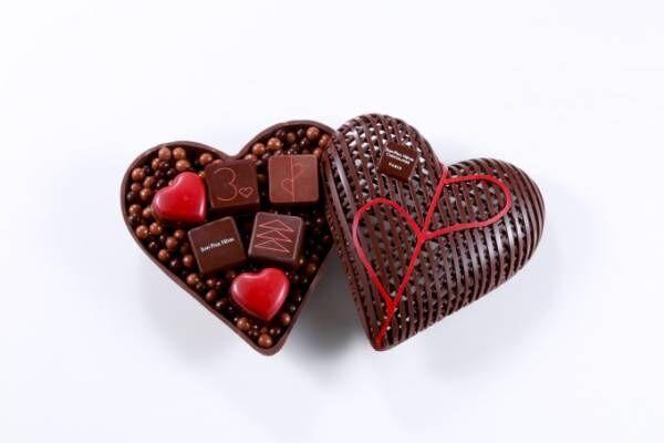 ジャン=ポール・エヴァンのバレンタイン限定チョコ、ハート形のボンボン ショコラなど