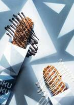 「クロッカンシュー ザクザク」バレンタイン&ホワイトデー限定シュークリーム、ビターチョコをかけて