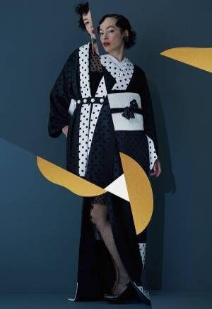 着物ブランド「KIIRO」デビュー、老舗呉服店から生まれた個性的なきもの&和雑貨