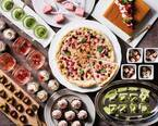 大阪・ホテル阪急インターナショナル「ストロベリースイーツビュッフェ」デザートピザやチーズスフレ