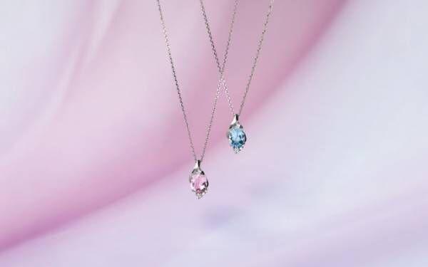 スタージュエリー春の新作 - 宝石を花びらに見立てたネックレスや、チェインが揺れるピアス