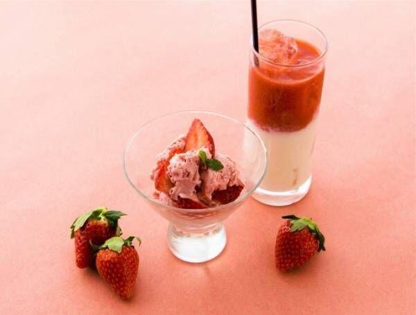 「アコメヤのいちご市」新鮮あきひめの販売会や苺ショコラ大福などが集結、甘酒いちごミルクも