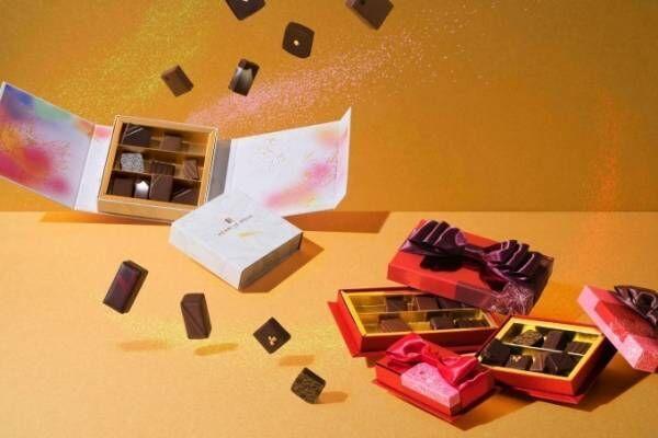 アンリ・ルルーのバレンタイン - ピスタチオや紅茶香る新作チョコ&京友禅の限定コフレ