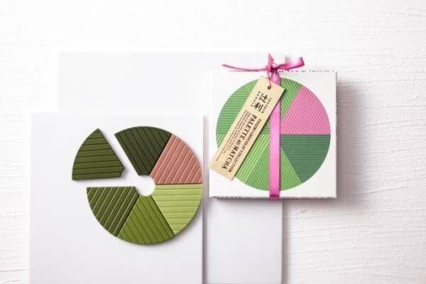 辻利のバレンタインチョコ「抹茶くらべ」抹茶の濃度別に異なる味を楽しむタブレット