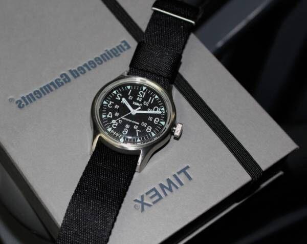 エンジニアド ガーメンツ×ビームス ボーイ×タイメックス腕時計、即完売のモデル復刻&反転した文字盤