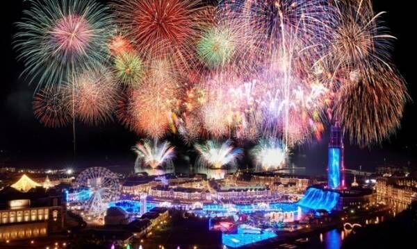 ハウステンボス「春の九州一花火大会」九州最大規模2万発の打上花火&アニソンとのコラボ花火も