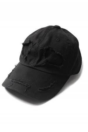 99%IS-の限定キャップ「GHOST CAP」ゴーストが微笑むオールブラック