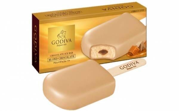 ゴディバの新アイスバー「ブロンドチョコレート」キャラメルとチョコレートが絡み合う贅沢な1本