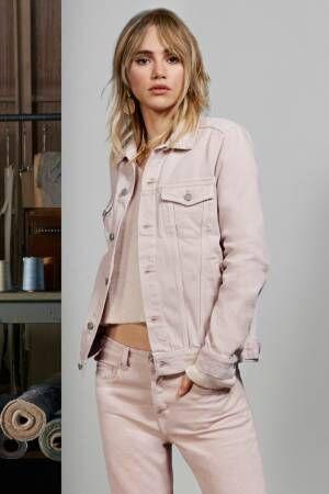 H&Mの最新デニムコレクション、パールや刺繍付きジャケット&ピンクのカラーデニムも
