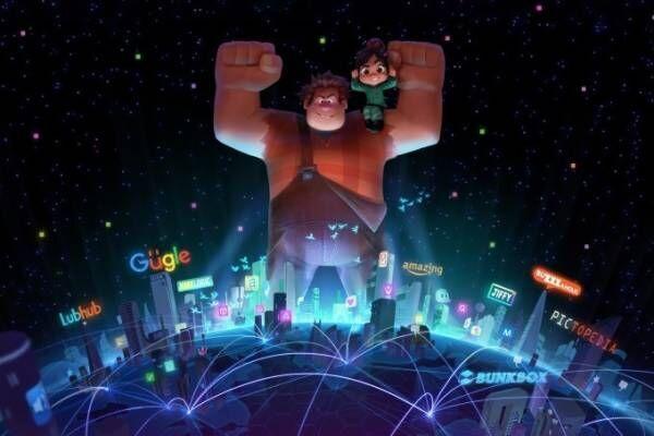 映画『シュガー・ラッシュ:オンライン』舞台はネット世界、ズートピアの監督が贈る新作ディズニーアニメ