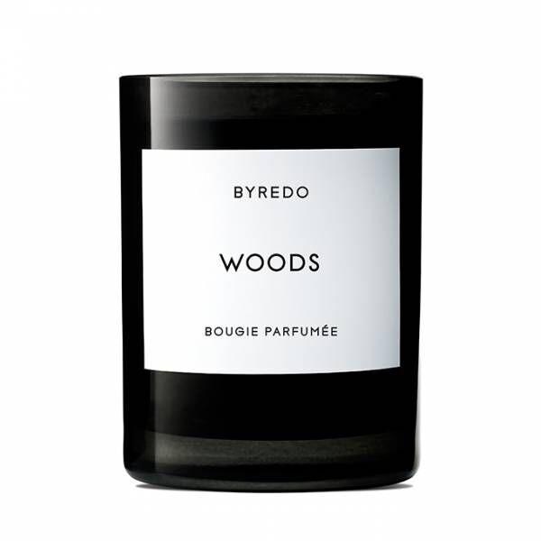 バイレードの新フレグランスキャンドル「ウッズ」北欧の自然から着想を受けた木々の香り