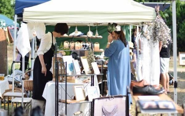 クリーマのスプリングマーケットが二子玉川ライズで開催 - 雑貨からグルメまでハンドメイド商品集結