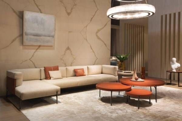 フェンディの新作インテリアコレクションが大塚家具で発売 - モダンな素材とレトロなデイテールを融合