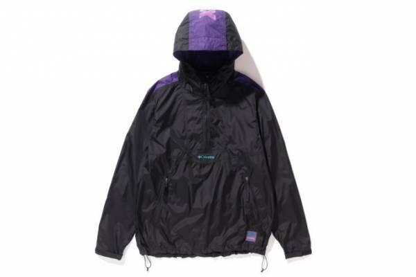 XLARGE×コロンビア - 90sストリートを感じさせるパープルカラーのジャケット