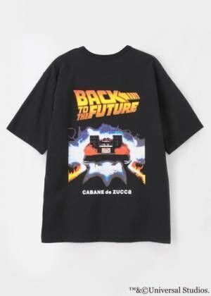 ZUCCaが『バック・トゥ・ザ・フューチャー』とコラボ、タイムマシン「デロリアン」のTシャツやバッグ