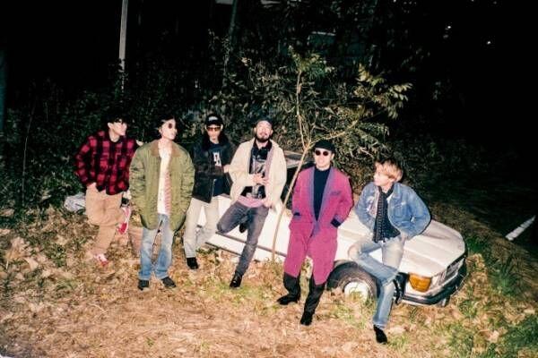 Suchmosが最新曲「808(ハチマルハチ)」をリリース、再びHONDAの車「ヴェゼル」のCM曲に