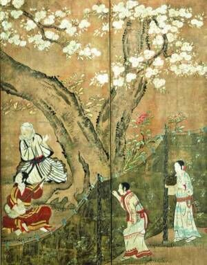「博物館でお花見を」上野の東京国立博物館で、400年前の花見を描いた国宝&庭園に咲く約10種類の桜