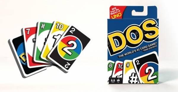 UNO(ウノ)の続編カードゲーム「DOS(ドス)」誕生