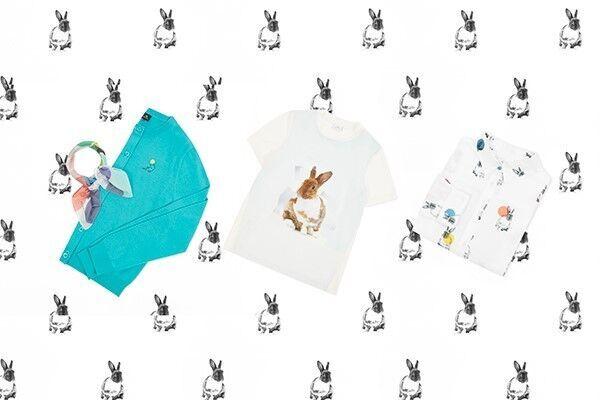 PS バイ ポール・スミス、ウサギモチーフのウェア&小物コレクションに新作
