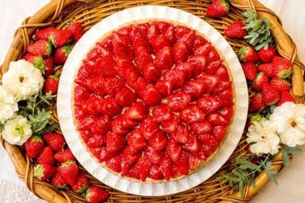 キル フェ ボンから「イチゴとホワイトチョコババロアのタルト」ホワイトデー限定で発売
