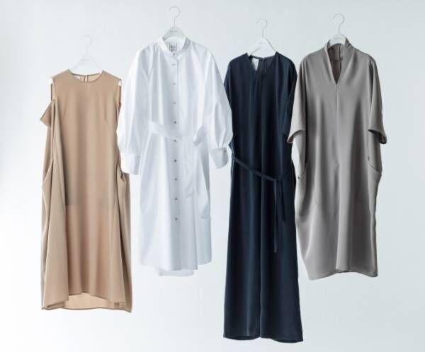 サポートサーフェス×ベイジ,のドレス - Aラインワンピースやオールインワンなど全4型