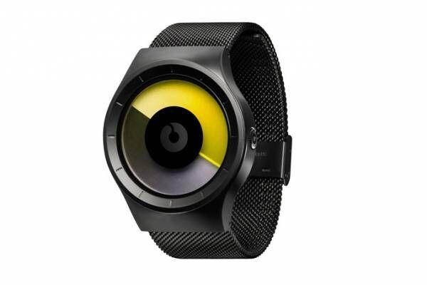 独・腕時計ブランド「ジーロ」の日本限定モデル、オーロラをイメージしたイエローグラデーション