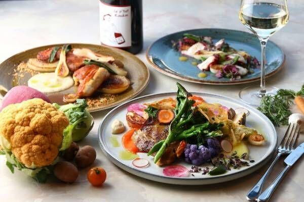 日比谷ミッドタウンに全国の旬の食材使うレストラン「ドローイング ハウス・オブ・ヒビヤ」誕生