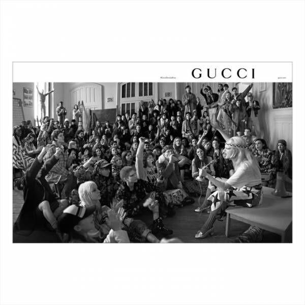 """グッチ、18年プレフォールコレクションのビジュアル - パリで起きた若者たちの""""5月革命""""が舞台"""
