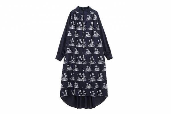 ネ・ネットから「たんぽぽエンブロ」シリーズ - たんぽぽの花を刺繍したウェアや傘