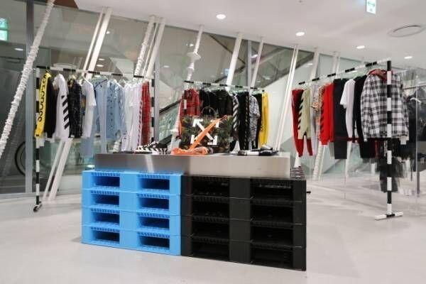 オフ-ホワイトの国内2店舗目がドーバー銀座にオープン - インスタレーションも開催