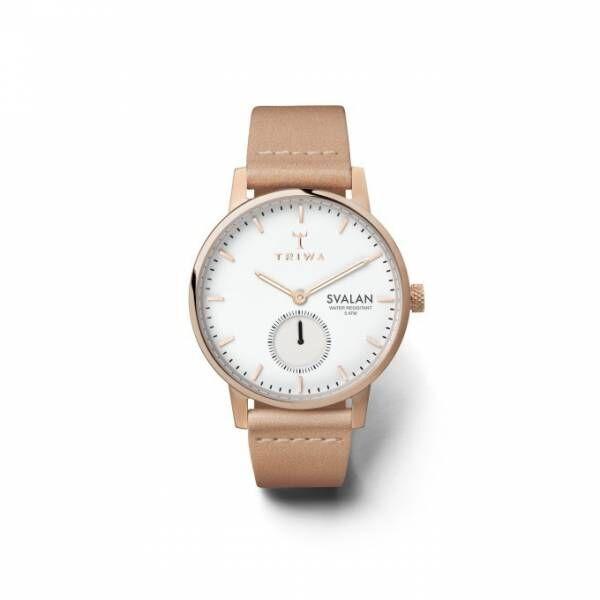 """スウェーデン時計ブランド「トリワ」の新作ウォッチ、淡い色使いで表現する""""春色"""""""